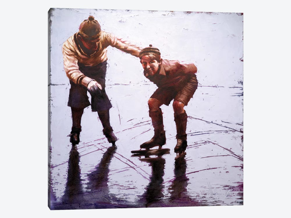 December, The First Ice by Igor Shulman 1-piece Art Print
