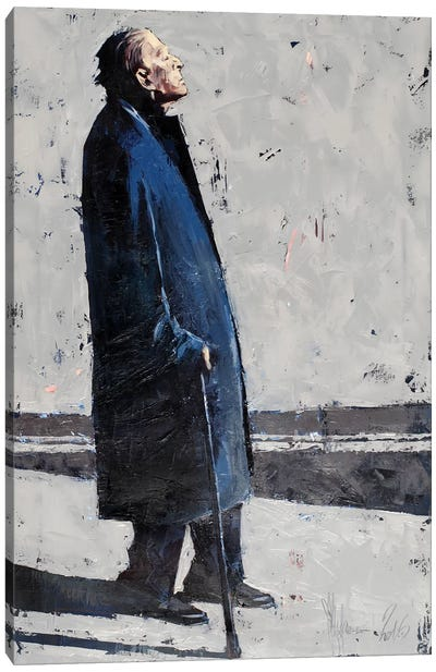 December, Milan Canvas Art Print
