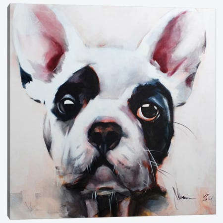 Dog I Canvas Print #IGS14} by Igor Shulman Canvas Wall Art
