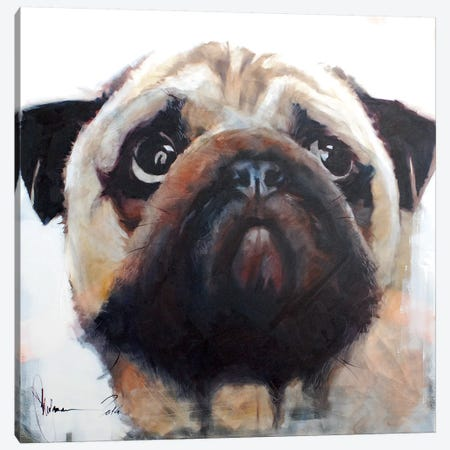 Dog III Canvas Print #IGS16} by Igor Shulman Canvas Artwork