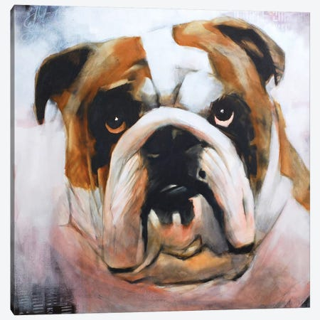 Dog IV Canvas Print #IGS17} by Igor Shulman Canvas Wall Art