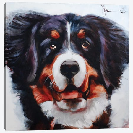 Dog V Canvas Print #IGS18} by Igor Shulman Art Print