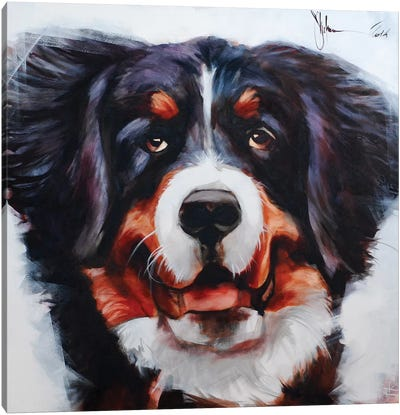 Dog V Canvas Art Print