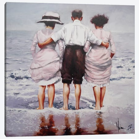Family Chronicles Canvas Print #IGS21} by Igor Shulman Canvas Artwork