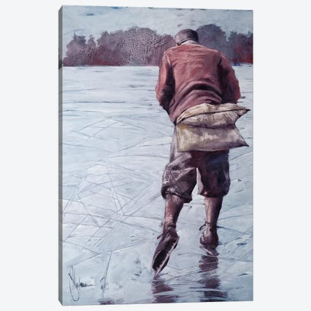 Fear Of Pain. Canvas Print #IGS22} by Igor Shulman Canvas Wall Art