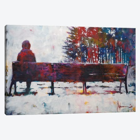 February Canvas Print #IGS23} by Igor Shulman Canvas Wall Art