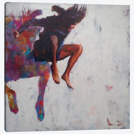 Leap To Nowhere 3-Piece Canvas #IGS40} by Igor Shulman Canvas Art