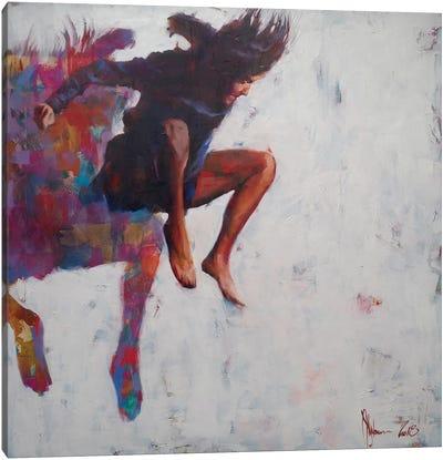 Leap To Nowhere Canvas Art Print