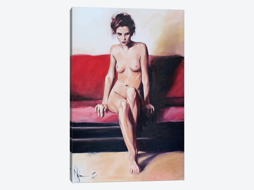 Lisa by Igor Shulman 1-piece Canvas Print