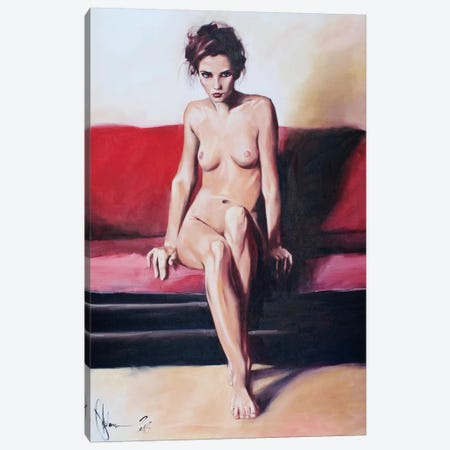 Lisa Canvas Print #IGS41} by Igor Shulman Canvas Art