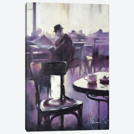 Morning Newspaper Canvas Print #IGS48} by Igor Shulman Canvas Artwork