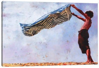 Beach Pastoral Canvas Art Print