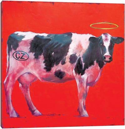 My Cow Canvas Art Print