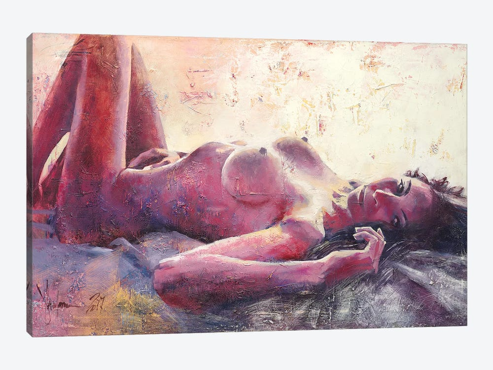Nude#612 by Igor Shulman 1-piece Canvas Art