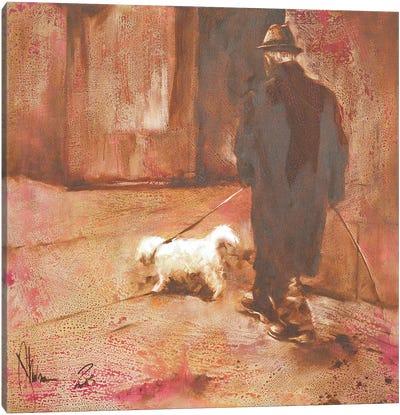 December, Prague Canvas Art Print