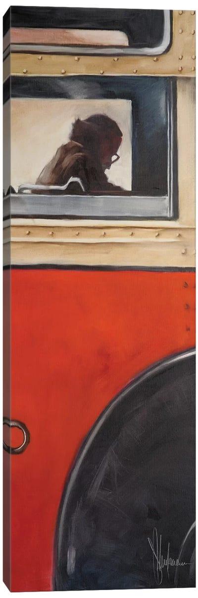 Bus From My Childchood Canvas Art Print