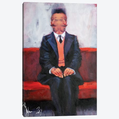Selfportrait III Canvas Print #IGS70} by Igor Shulman Art Print