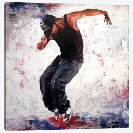 Street Dancer III Canvas Print #IGS78} by Igor Shulman Art Print