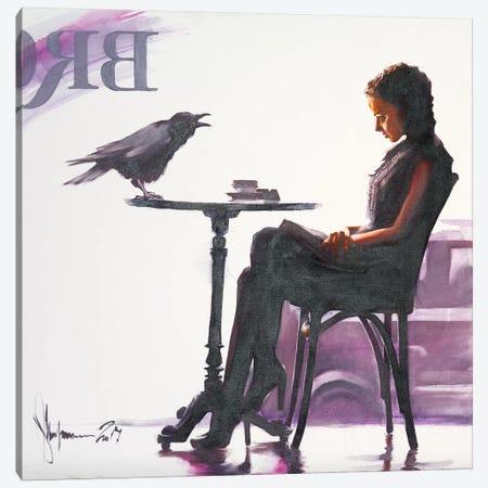 Cafe Brighton Canvas Print #IGS7} by Igor Shulman Canvas Print