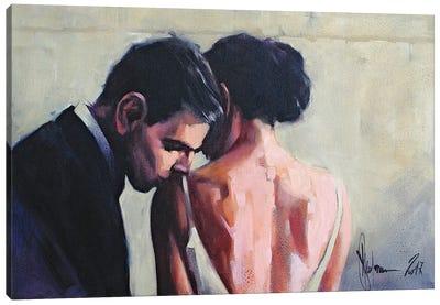 The February 14 Canvas Art Print