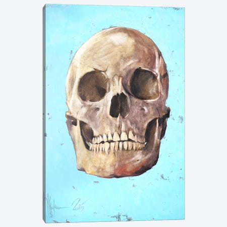 The Skull Canvas Print #IGS83} by Igor Shulman Canvas Artwork