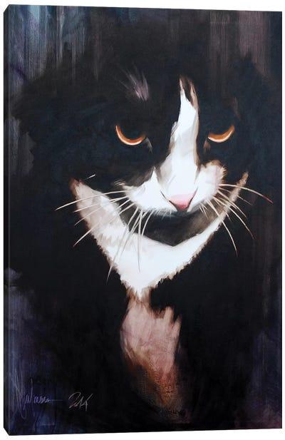 Cat I Canvas Art Print