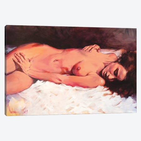 Frank Canvas Print #IGS91} by Igor Shulman Canvas Print