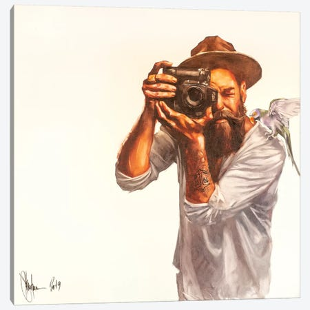 Hipsters Morning Canvas Print #IGS92} by Igor Shulman Art Print