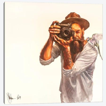Hipsters Morning Canvas Print #IGS92} by Igor Shulman Art Print