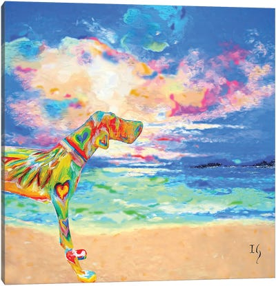 Max Canvas Art Print