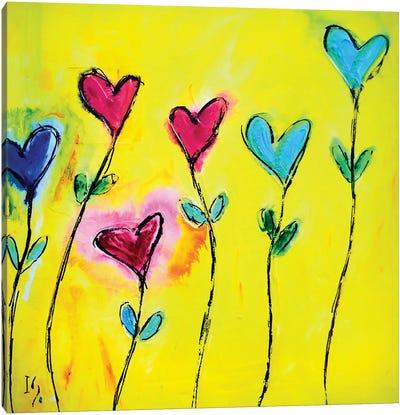 Amor De Colores Canvas Art Print