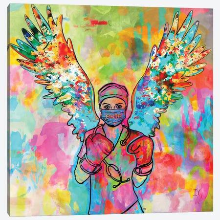 Today I Choose Hope Canvas Print #IGU149} by Ivan Guaderrama Art Print