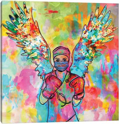 Today I Choose Hope Canvas Art Print