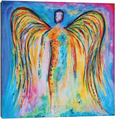 Angel Eternal Flame Canvas Art Print