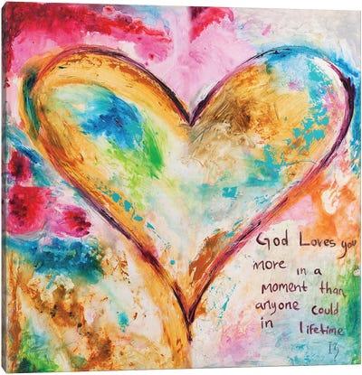 Divine Moment Canvas Art Print