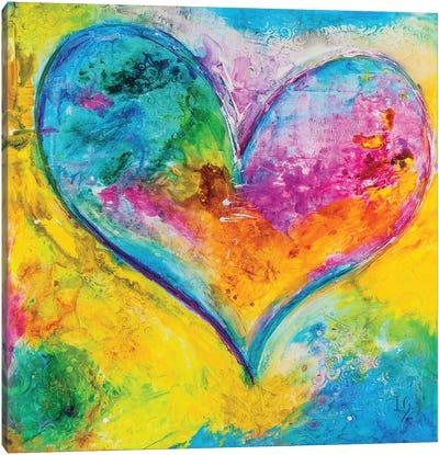 Faithful Love Canvas Art Print