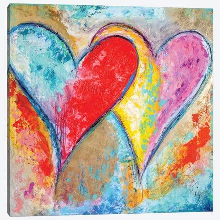 Heartbeat Music Canvas Print #IGU66} by Ivan Guaderrama Art Print