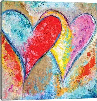 Heartbeat Music Canvas Art Print