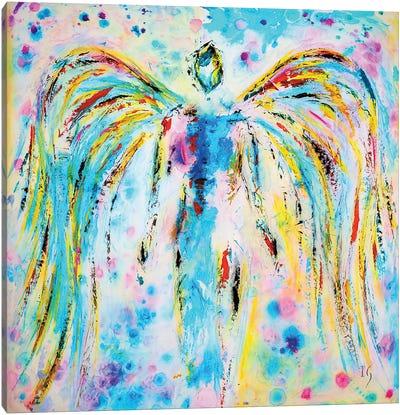 Heavenly Angel Canvas Art Print