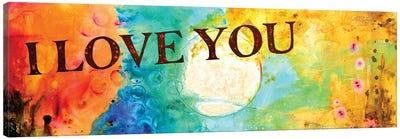 I Love You Canvas Art Print