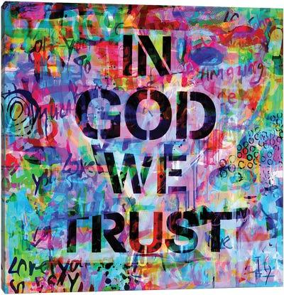 In God We Trust Canvas Art Print