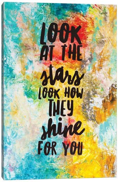 Look At The Stars Canvas Art Print