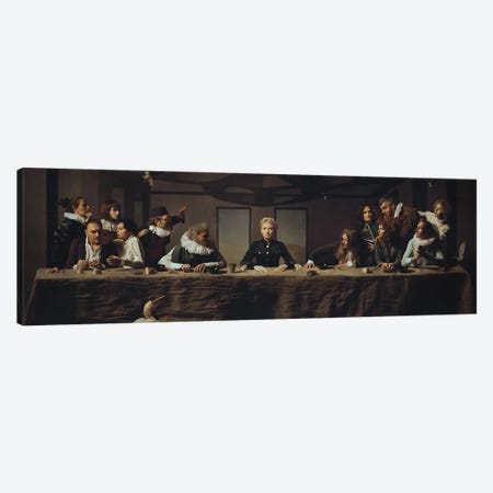L'Ultima Cena Canvas Print #IGV1} by Igor Voloshin Canvas Art Print