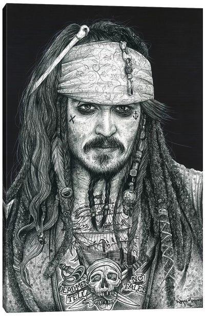 Captain Jack Canvas Art Print