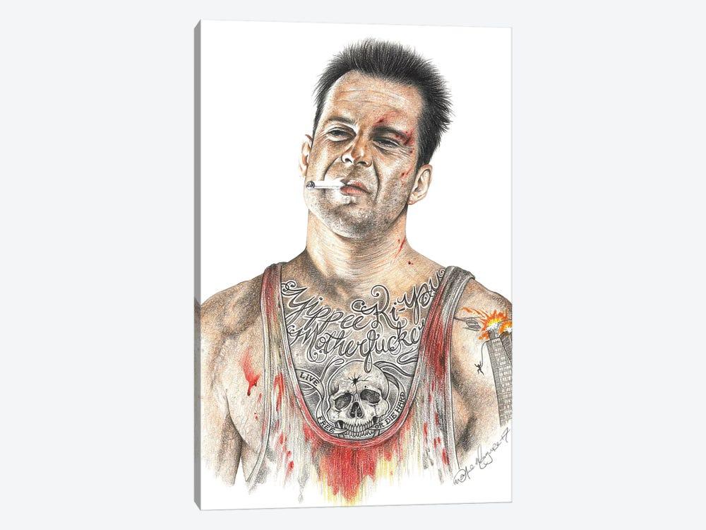 Die Hard by Inked Ikons 1-piece Canvas Print