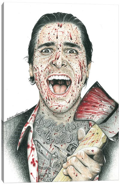 American Psycho Canvas Art Print