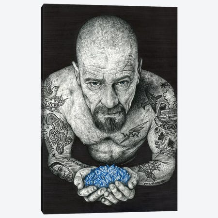 Heisenberg Canvas Print #IIK20} by Inked Ikons Canvas Print