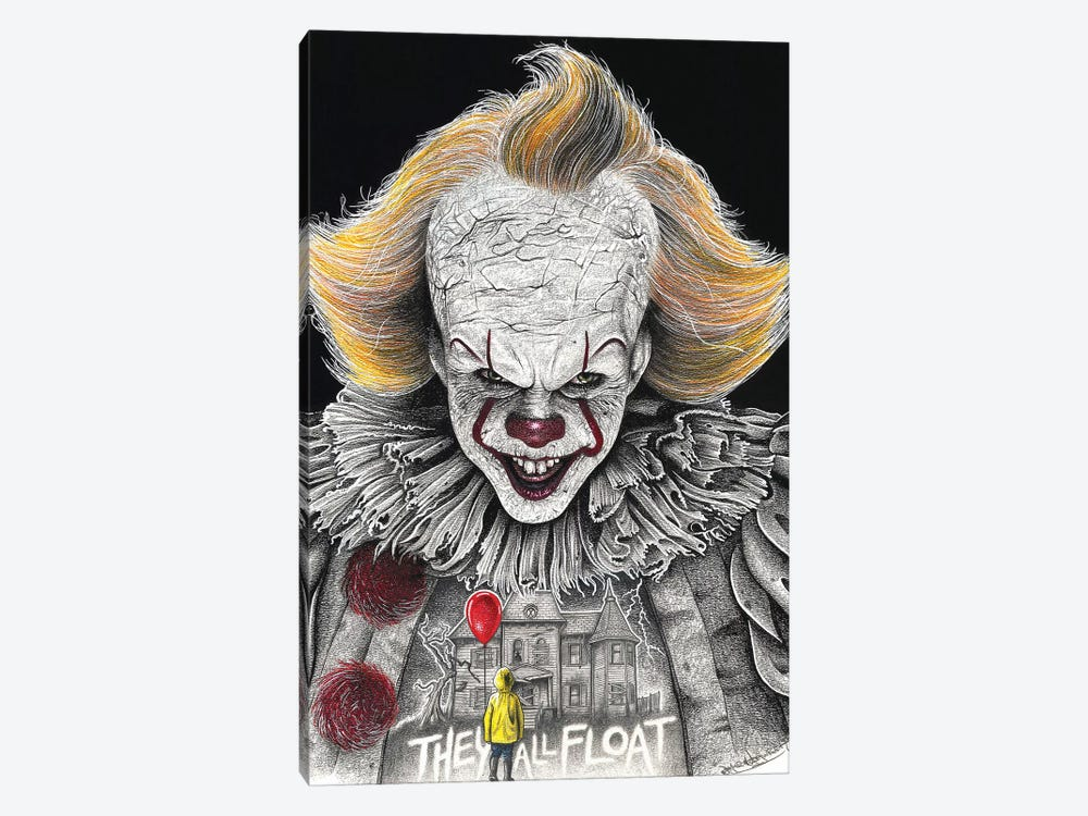 It On Black by Inked Ikons 1-piece Canvas Art