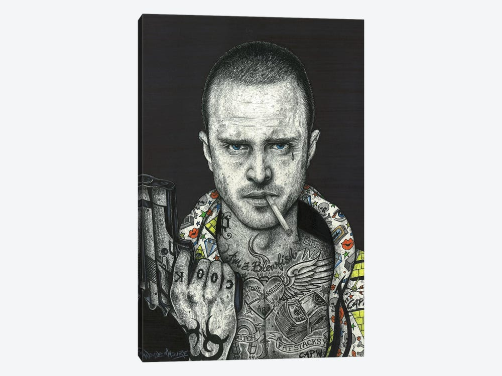 Jesse by Inked Ikons 1-piece Canvas Art Print
