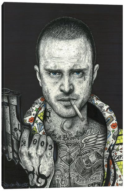 Jesse Canvas Art Print